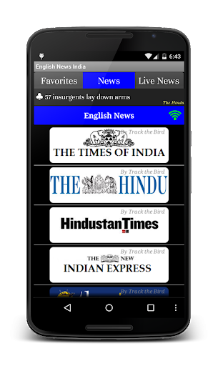 English News Papers India