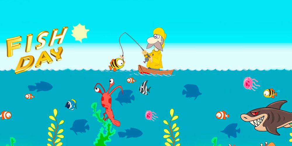 Fish day android apps on google play for Fishing game android