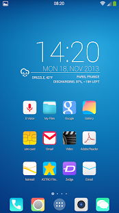 KitKat HD Launcher Theme 7 in1 - screenshot