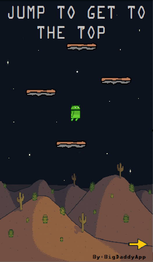 ANDROID JUMP - screenshot