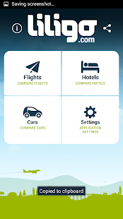 Liligo flight and hotel search - screenshot thumbnail