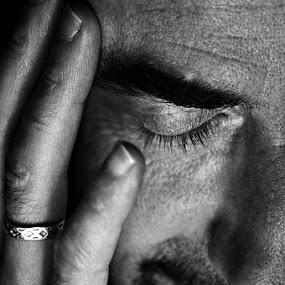 by Delphine Jourdren - People Portraits of Men ( laurent, masculin, portrait, black&white,  )