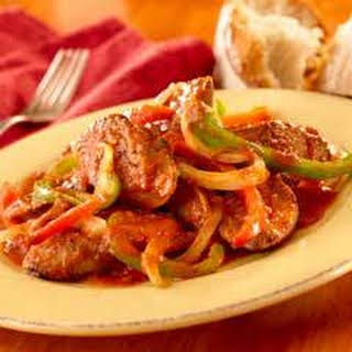 Sausage, Peppers & Onions.