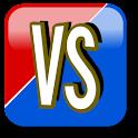 Rød Vs. Blå logo
