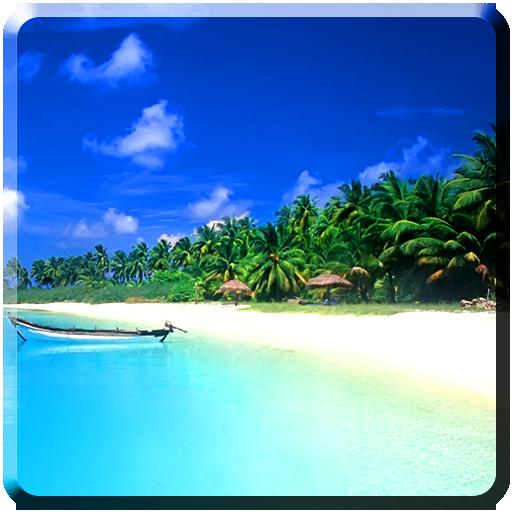 个人化のビーチライブ壁紙 LOGO-記事Game