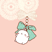 CUKI Theme Mint ribbon molrang