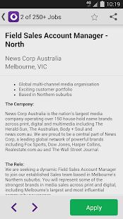 CareerOne Job Search - screenshot thumbnail