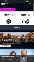 Screenshot of nrk.no