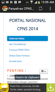 Panselnas Cpns 2014 Apk For Bluestacks Download Android Apk Games Amp Apps For Bluestacks