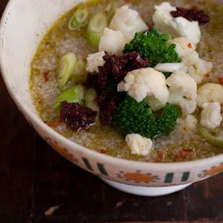 Ten Minute Couscous Soup.