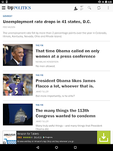 The Washington Post- screenshot thumbnail