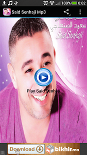 Said Senhaji Mp3 - screenshot thumbnail