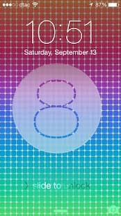 iOS 8 LockScreen
