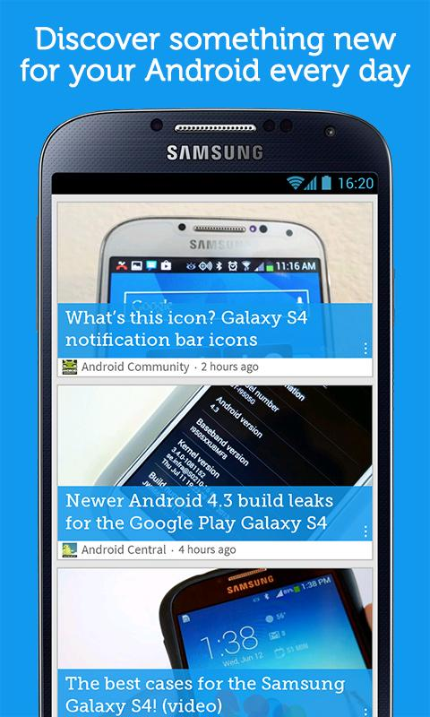 Drippler - Top Android Updates - screenshot