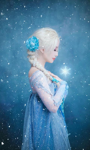 The Ice Queen Frozen Wallpaper