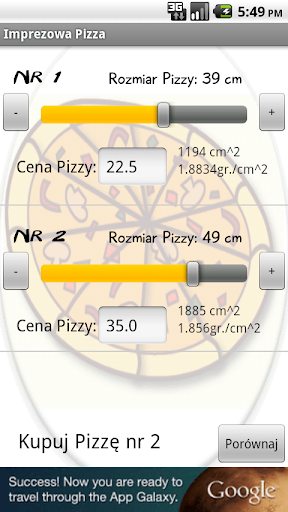 Imprezowa Pizza