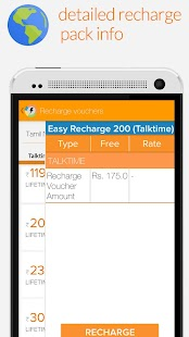 Mobile Recharge Plans & Packs - screenshot thumbnail