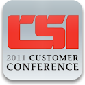 2011 CSI Customer Conference logo