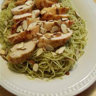 Grilled Chicken and Angel Hair Pasta.