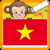 Coloring game Vietnamese