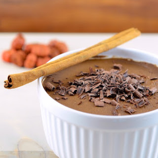 Chocolate Pumpkin Pudding (vegan + gluten free).