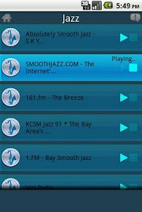 Streamdroid Radio - screenshot thumbnail
