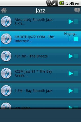 Streamdroid Radio- screenshot