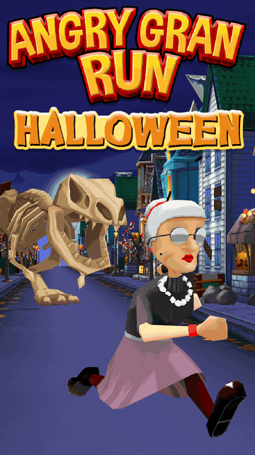 Angry Gran Run Running Game Screenshot