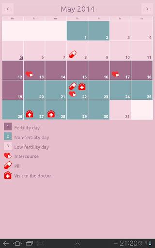 【免費健康App】Period calendar-APP點子