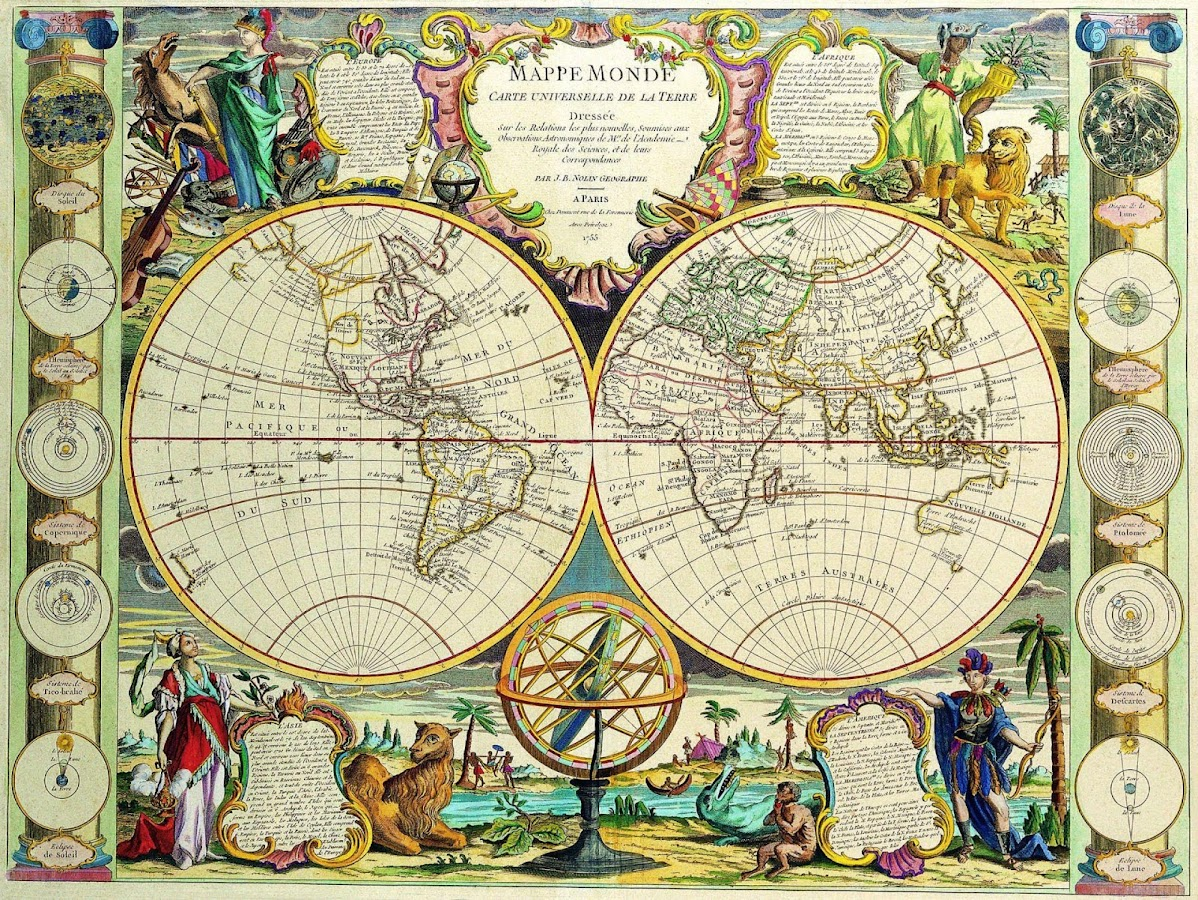 World Map Retro Wallpaper. Old World Maps Wallpapers  screenshot Android Apps on Google Play