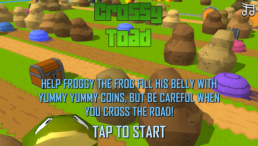Crossy Toad 3D Race