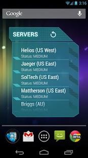 Widgets for Planetside 2- screenshot thumbnail