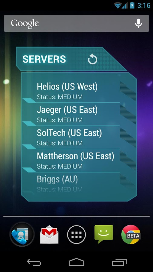 Widgets for Planetside 2- screenshot
