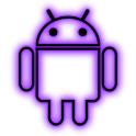 GloWorks Purple ADW Theme icon