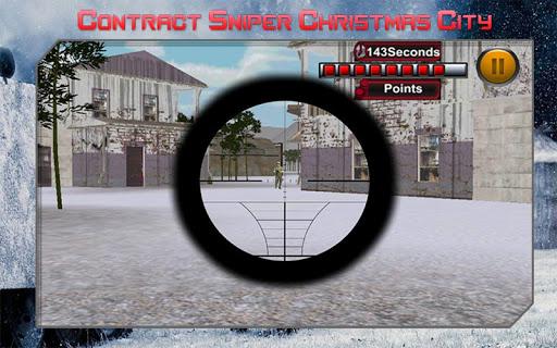 合同狙擊聖誕城|玩動作App免費|玩APPs