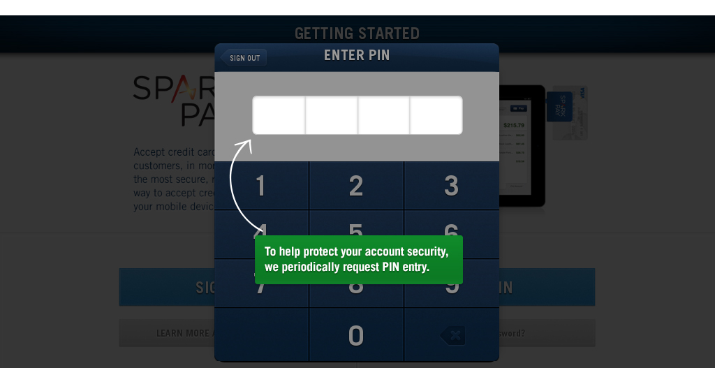 Spark Pay - screenshot