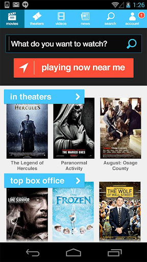 Moviefone - Movies Showtimes
