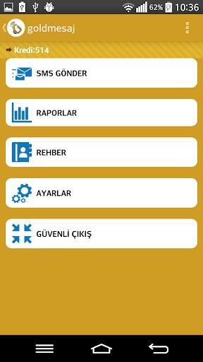 玩免費通訊APP|下載GoldMesaj - Toplu Sms app不用錢|硬是要APP