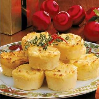 Mashed Potato Timbales.