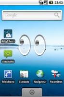 Screenshot of Xeyes Widget