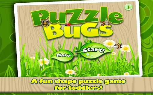 Puzzle Bugs - Shape Puzzles