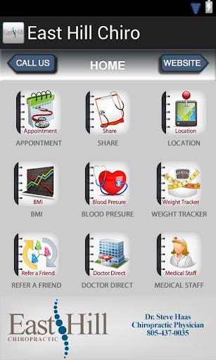 玩健康App|East Hill Chiro免費|APP試玩