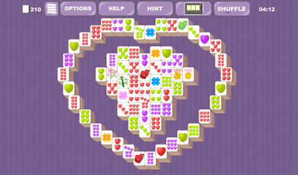 Valentine's Mahjong Tiles APK screenshot thumbnail 1