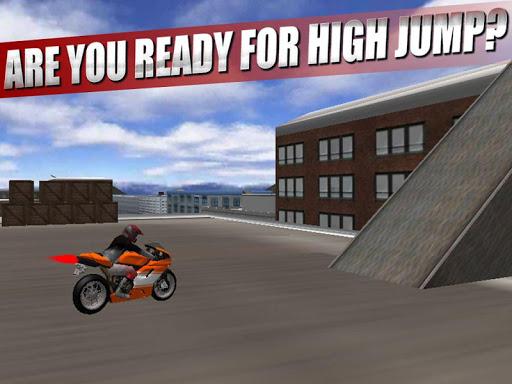 Moto Non Stop Stunts Racing