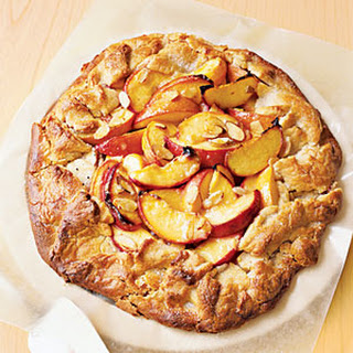 Peach-Almond Crostada