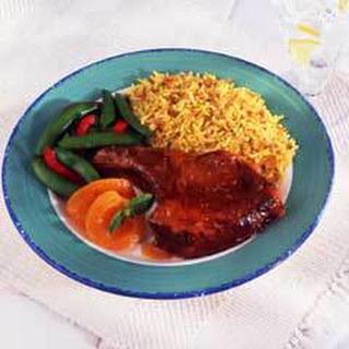 Glazed Pork Chops.