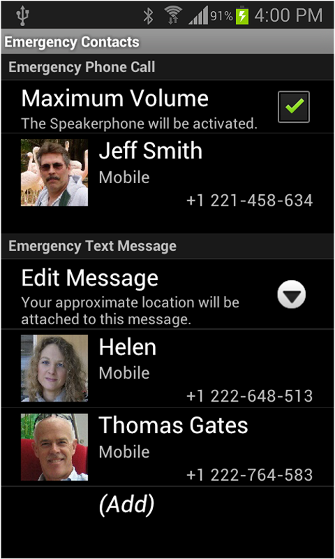 Remote Speed Dial- screenshot