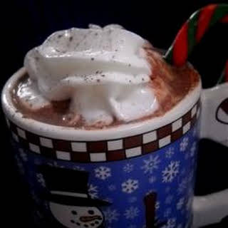 Eggnog Hot Chocolate.