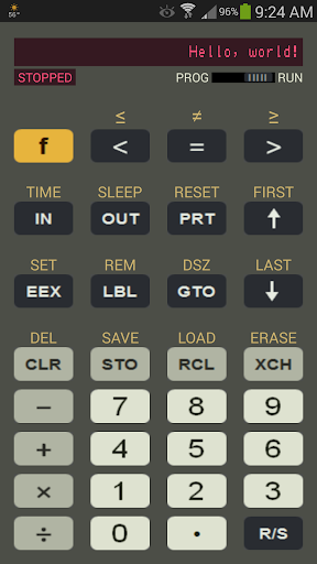 Programmable Calculator