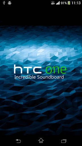 HTC One Incredible Soundboard